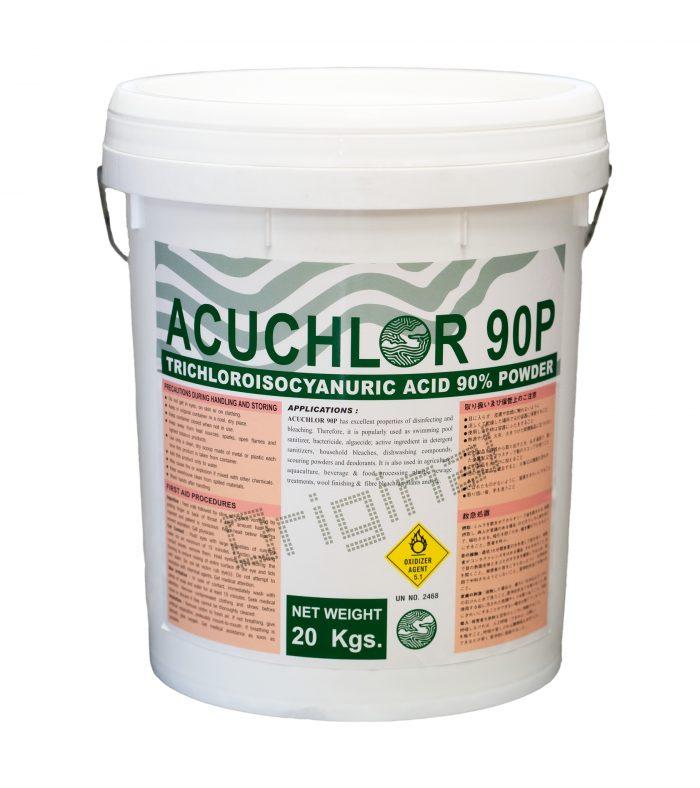 CHLORINE TCCA ACUCHLOR 90P 20KG