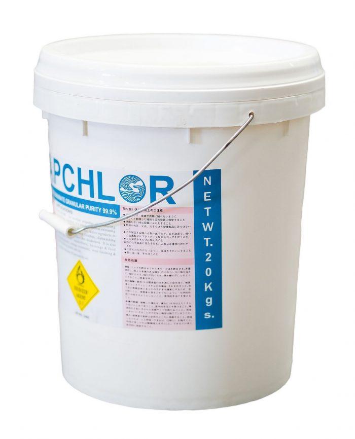 Sodium Dichloroisocyanurate granular เกล็ด คลอรีน 60%