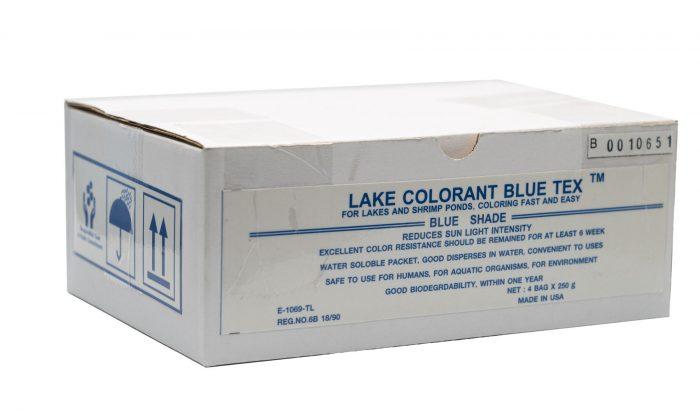 Lake Colorant Blue Tex สีน้ำเทียม สีน้ำเงิน บ่อกุ้ง