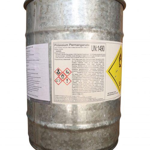 potassium permanganate ด่างทับทิม